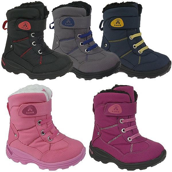 Kamik Baby Boots Stiefel SNOWMAN in berry wasserdicht, bis