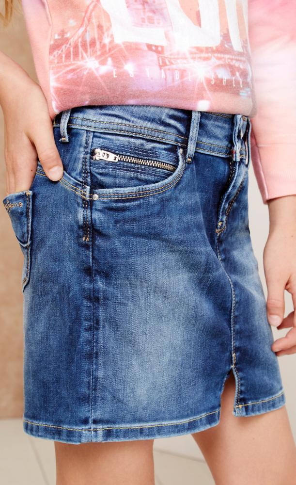 size 40 9e2ff 5e53a Pepe Jeans Damen Olivia Rock, Blau (Denim), 44 ...