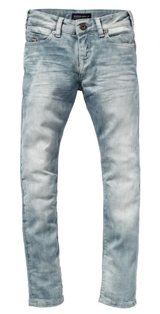Scotch Shrunk skinny Jeans TIGGER graublauer Stretchdenim   Scotch Shrunk   Cinderella  Kindermoden b849cc5927