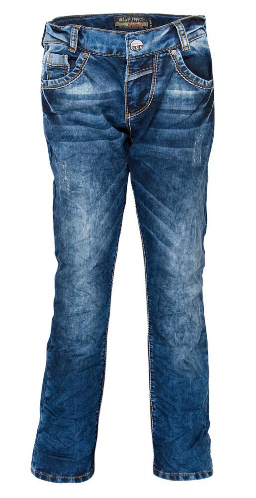 blue effect jeans mit dicken n hten slim fit in blue jogg denim. Black Bedroom Furniture Sets. Home Design Ideas