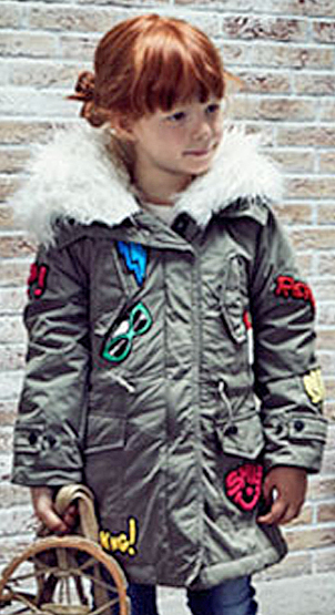 Replay jacke mit patches
