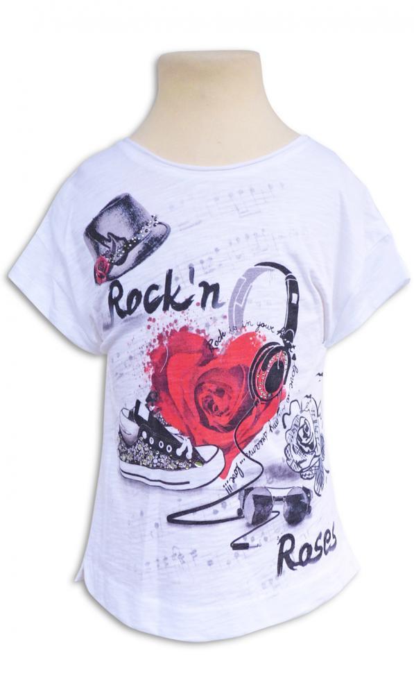 7d6d7646c063 ELSY Girl cooles T-shirt DEVA Chucks mit Glitzersteinchen | ELSY ...