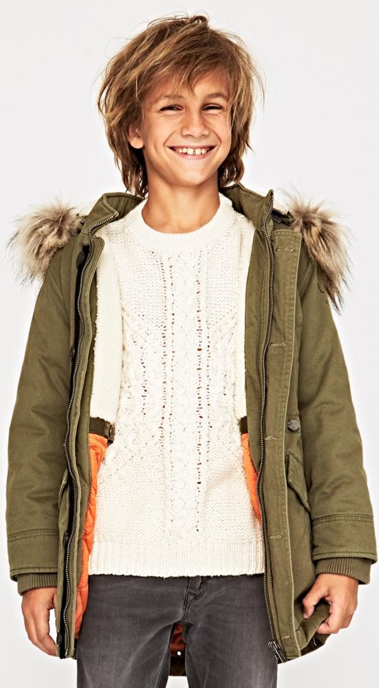 the best attitude 3f88a a0db5 Pepe Jeans coole Winter Canvas Parka Jacke RUBEN in army m ...