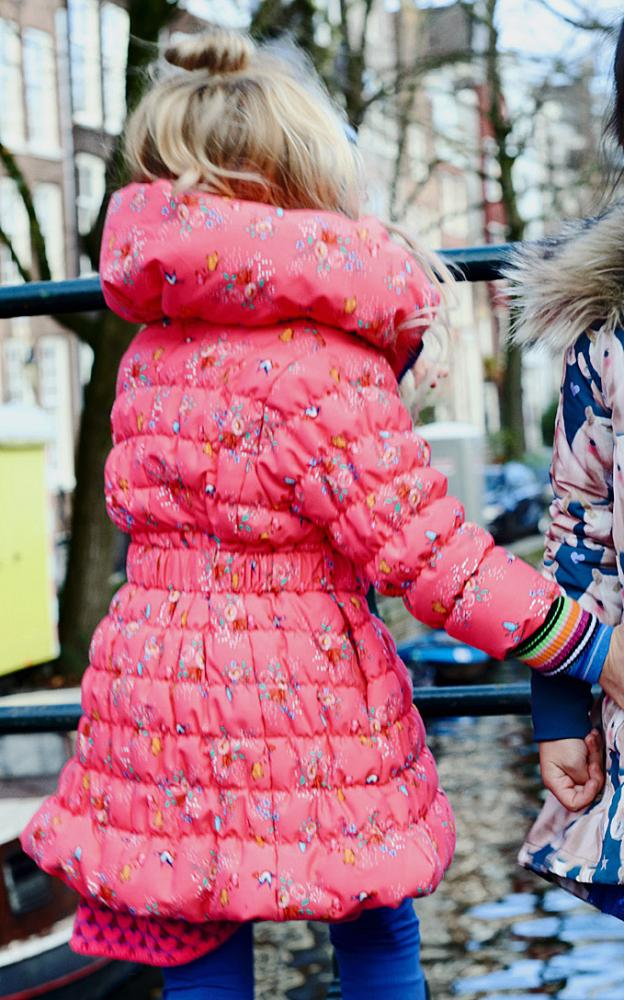 mim pi warmer wintermantel in pinkrot flower limited edition mim pi cinderella kindermoden. Black Bedroom Furniture Sets. Home Design Ideas