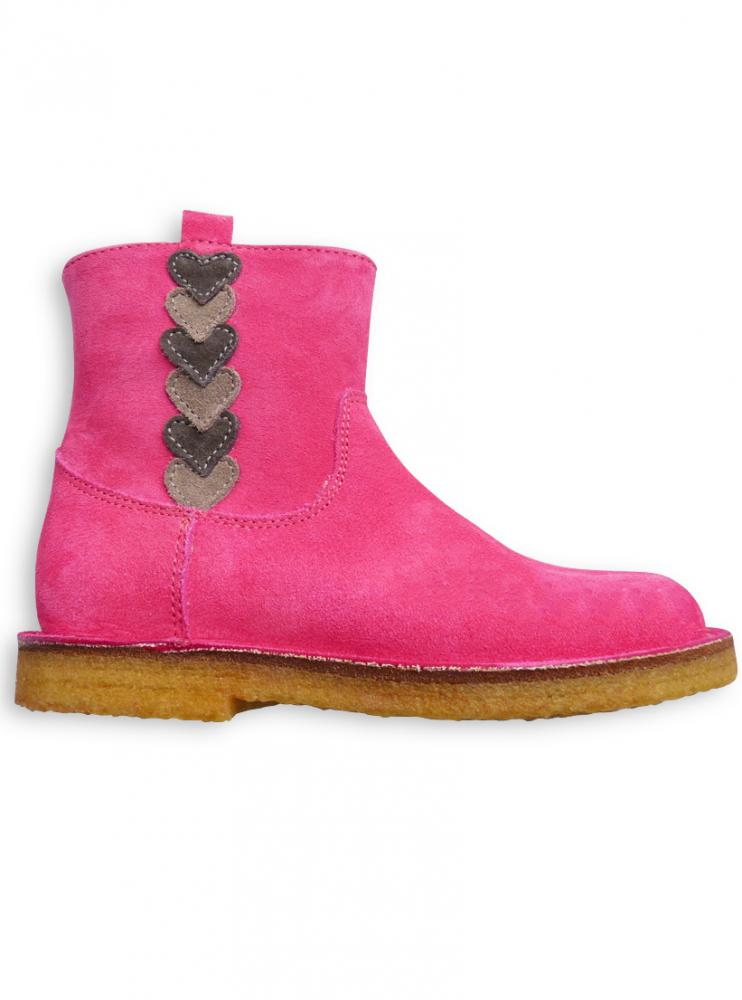 Stiefelette fuxiapink