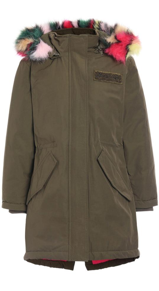 designer fashion 09279 56d14 Vingino coole warm wattierte Parka Jacke TERINNE in army ...
