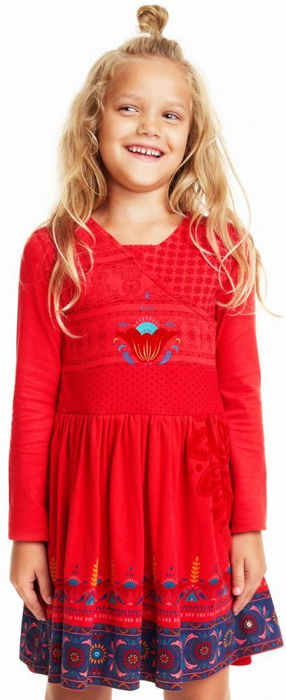 Desigual Kleid NIAMEY burgund red tolle Farbe | Desigual ...