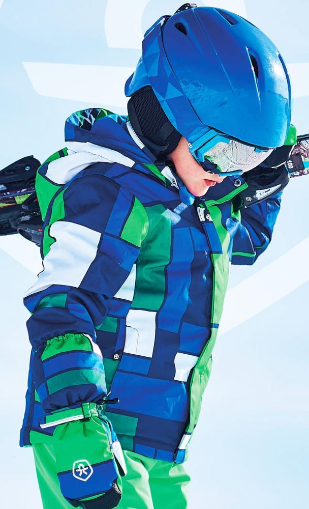 Color Kids gefütterte Funktions SkiSchnee Jacke DARWIN in